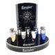 Zapalovač Eurojet Donna, metalický-Plynový zapalovač. Zapalovač je plnitelný. Výška zapalovače je 7,3cm. Cena je uvedena za 1 ks.