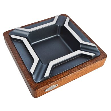 Doutníkový popelník Wenge, wood-metal, 4D(36002)