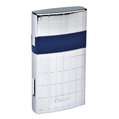 Tryskový zapalovač Caseti Nice chrome-blue(281900)