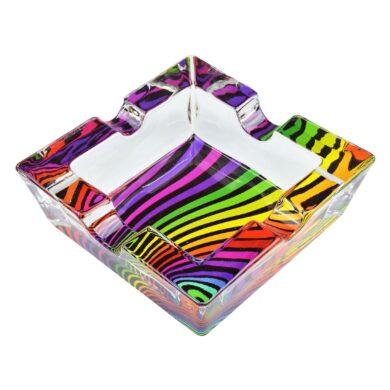 Cigaretový popelník skleněný Waves(11016.7)