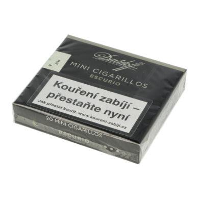 Doutníky Davidoff Mini Cigarillos Escurio, 20ks(5961555)