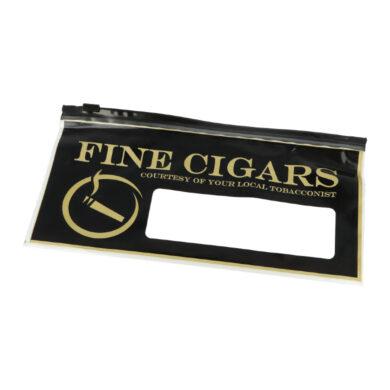 Sáček na doutníky Fine Cigars, plastový(012921)