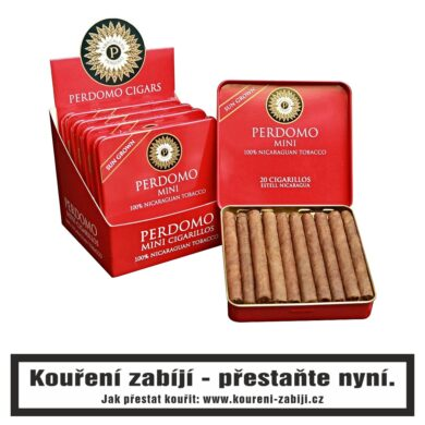 Doutníky Perdomo Mini Cigarillos Sun Grown, 20ks(UPB1572)