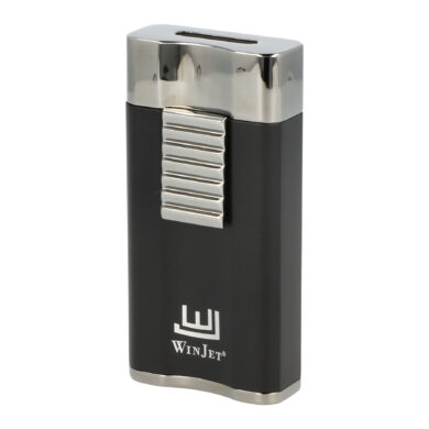 Doutníkový zapalovač Winjet Premium Flat Dark Black(310027)