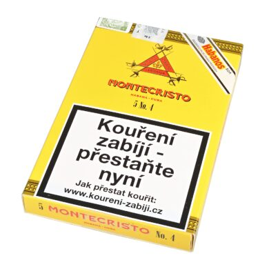 Doutníky Montecristo No 4 C/P, 5ks(K 058)