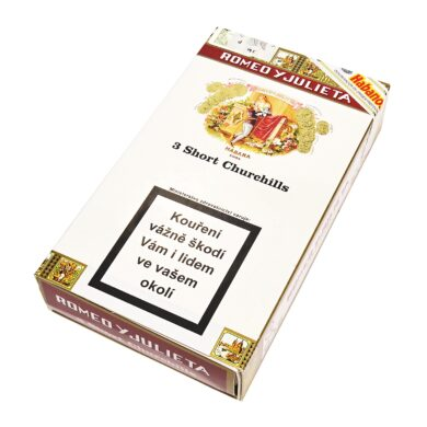 Doutníky Romeo y Julieta Short Churchills A/T, 3ks  (K 144)