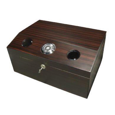 Humidor na doutníky Dark Brown 50D, stolní(82028)