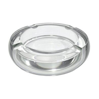 Doutníkový popelník křišťálový, kulatý(42403)
