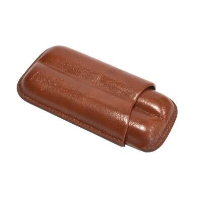 Etue na 2 doutníky, hnědá, 120mm(81205)