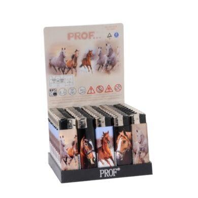 Zapalovač Prof Piezo Horses(803610)