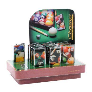 Zapalovač Champ Snooker Card(401770)