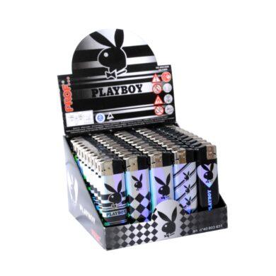 Zapalovač Prof Piezo Playboy Metal(803631)