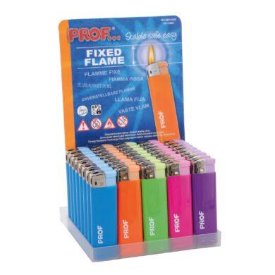 Zapalovač Prof Piezo Fashion Color(803515)