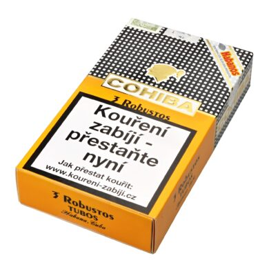 Doutníky Cohiba Robustos Tubos A/T, 3ks(K 230)