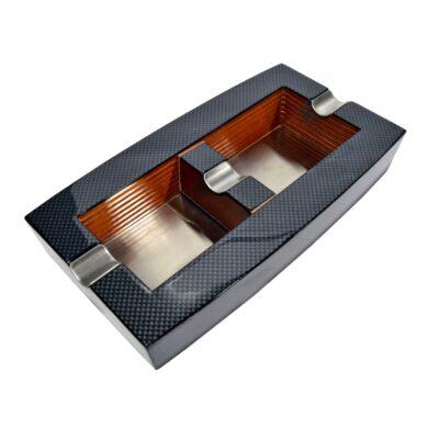Doutníkový popelník, dřevo-karbon(524551)