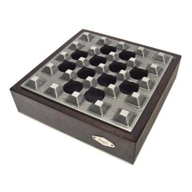 Doutníkový popelník Bars, tmavěhnědý(424001)