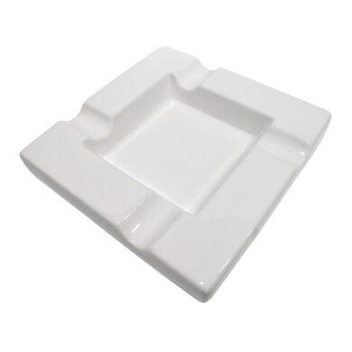 Doutníkový popelník keramický, bílý(523041)