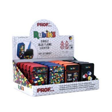 Tryskový zapalovač Prof Blue Flame Rubik's(804311)