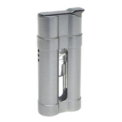 Zapalovač Eurojet Luciano, stříbrný(250702)