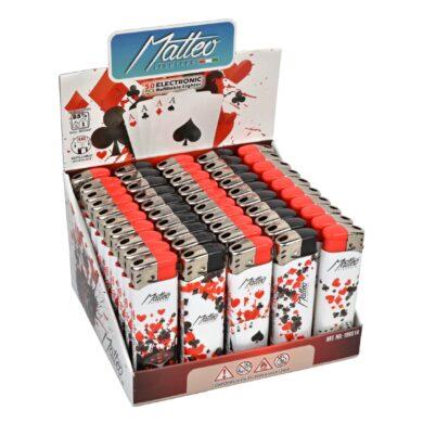 Zapalovač Matteo Poker(186018)