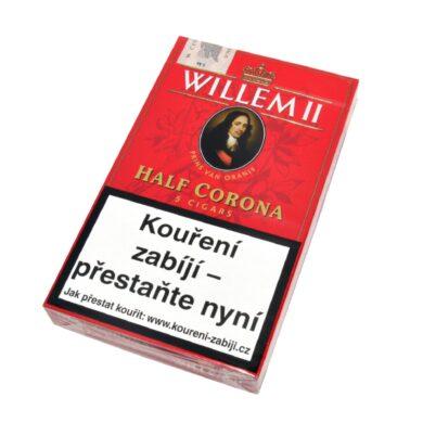 Doutníky Willem II Half Corona, 5ks(101120612T)