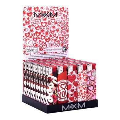 Zapalovač Maxim Red Hearts(804453)