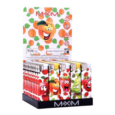 Zapalovač Maxim Funny Fruit(804457)