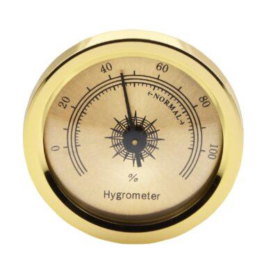 Vlhkoměr zlatý s magnetem, 45mm(09108)