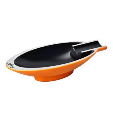 Doutníkový popelník Angelo kovový, oranžový(421003)