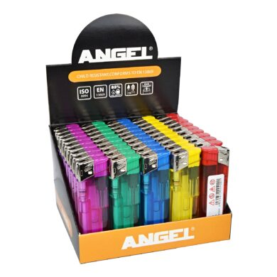 Zapalovač Angel Piezo Transparent(204000)