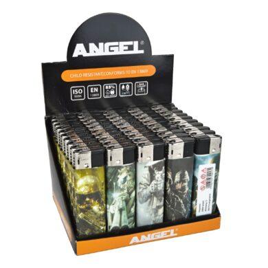 Zapalovač Angel Piezo Army(204246)