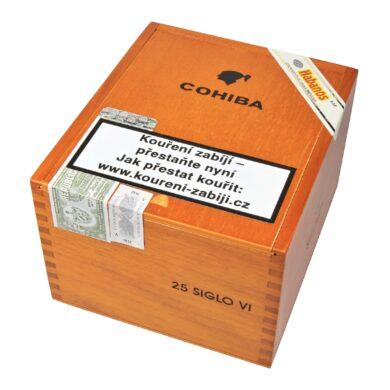 Doutníky Cohiba Siglo VI, 25ks(K 246)