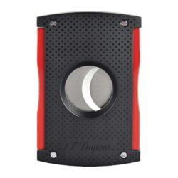 Doutníkový ořezávač S.T. Dupont černo-červený, 21mm(591892)