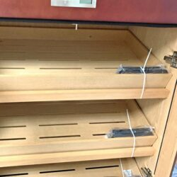 Humidor na doutníky skříňový Angelo 500D, hnědý(920006)