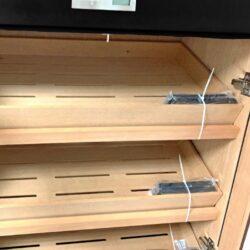 Humidor na doutníky skříňový Angelo 500D, černý(920007)