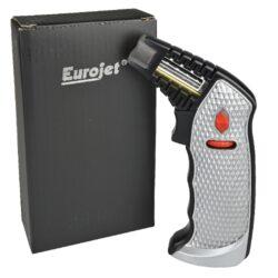 Stolní zapalovač Eurojet Bruno Jet stříbrný(270015)