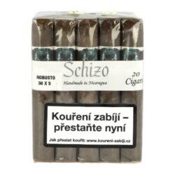 Doutníky Asylum Schizo Robusto 5x50, 20ks(4997555)
