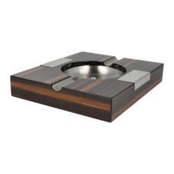 Doutníkový popelník dřevěný 2D, hnědý(09594)