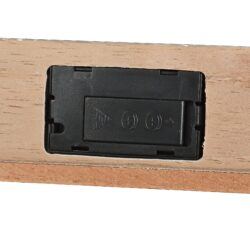 Humidor na doutníky Angelo Cabinett Grey, 30x28x53cm(920046)