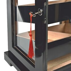 Humidor na doutníky Egoist Black, 32x48x28cm(JK00189)