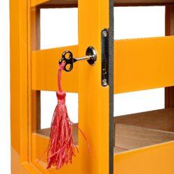Humidor na doutníky Egoist Orange, 32x48x28cm(JK00193)