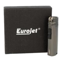 Doutníkový zapalovač Eurojet Reibrad Flint 3-Jet, anhtracite(251021)