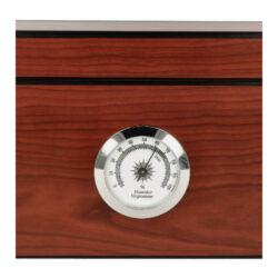 Humidor na doutníky červenohnědý prosklený 25D, 26x22x12cm(561279)