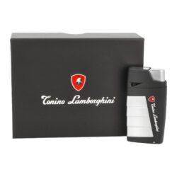 Doutníkový zapalovač Lamborghini Leandro 2xJet, black(910631)