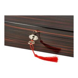 Humidor na doutníky Teak 30D leštěný, 29x22x9cm(29100)