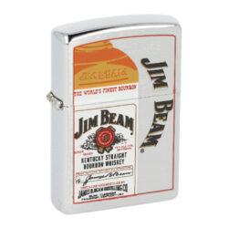 Zippo zapalovač Jim Beam Bottle and Barrels-Benzínový zapalovač Zippo Jim Beam Bottle. Zapalovač Zippo není naplněn benzínem. Provedení: broušený.  Benzínový zapalovač Zippo Jim Beam Barrels s pískovaným motivem. Zapalovač Zippo není naplněn benzínem. Provedení: leštěný. Správné fungování zapalovače Zippo zajistíte originálním příslušenstvím: benzín Zippo 3141 Fluid, kamínky Zippo Flint, knoty Zippo Wick a vatu do zapalovače Zippo.