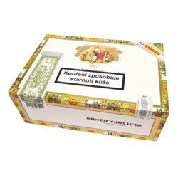 Doutníky Romeo y Julieta No.3 A/T, 25ks-Kubánské doutníky Romeo y Julieta No.3 A/T. Balené po 25 ks. Délka: 117mm, průměr: 16mm. Odběr po celém balení.