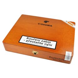 Doutníky Cohiba Esplendidos, 25ks-Kubánské doutníky Cohiba Esplendidos. Balené po 25 ks. Délka: 178mm, průměr: 18,6mm. Odběr po celém balení.