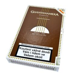 Doutníky Guantanamera Cristales, 5ks-Kubánské doutníky Guantanamera Cristales. Balené po 5 ks. Délka: 150mm, průměr: 16,7mm. Odběr po celém balení.