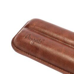 Etue na 2 doutníky, hnědá, 160mm(81220)